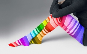 Картинка legs, Color, stockings