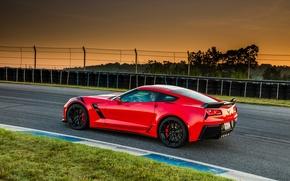 Картинка купе, Corvette, Chevrolet, шевроле, Coupe, корвет, Stingray