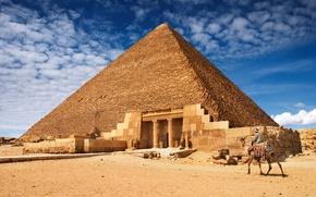 Обои Египет, архитектура, пирамида, Egypt, пейзаж