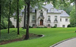 Картинка город, дом, архитектура, особняк, экстерьер, Atlanta