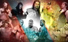 Картинка Champion, Wrestling, WWE, The Rock, John Cena, Randy Orton, Triple H, Rusev, Roman Reigns, Seth …