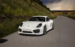 Картинка Porsche, Cayman, порше, TechArt, кайман