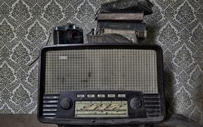 Картинка радио, камера, приёмник