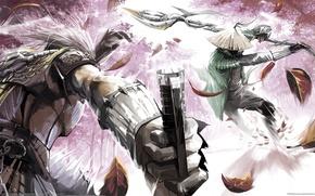 Картинка оружие, битва, воины