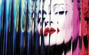 Обои madonna, mdna, photo album cover