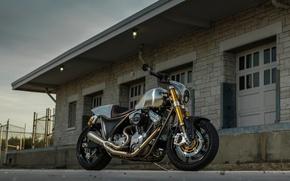 Картинка sport, GT-R, moto, bike, cruiser, v-twin, BRAWLER, Darwin Motorcycles