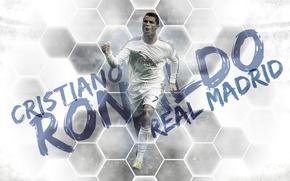 Картинка Cristiano Ronaldo, Реал Мадрид, Real Madrid, Криштиану Роналдо