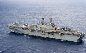 Картинка армия, флот, USS Bonhomme Richard (LHD 6), Amphibious assault ship