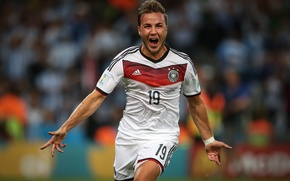 Картинка Германия, Футбол, Бразилия, Germany, Football, Deutschland, Sport, Футболист, Гол, Brasil, ФИФА, FIFA, Игрок, Финал, Марио ...