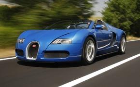 Картинка bugatti, roadster, veyron/grand.sport