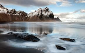 Картинка пейзаж, горы, лёд, Iceland, Auster-Skaftafellssysla