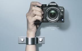 Картинка фото, рука, фотоаппарат