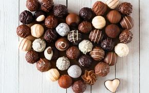 Картинка любовь, сердце, шоколад, конфеты, love, heart, romantic, chocolate
