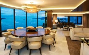 Картинка дизайн, стиль, вилла, интерьер, жилое пространство, Beach House
