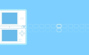 Картинка nintendo, games, gaming, minimalist, nintendo ds
