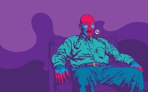 Картинка мужик, вектор, Ленин