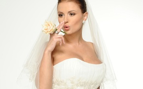 Картинка в свадебном, Семенович, Анна