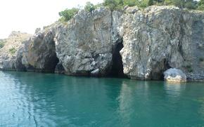 Картинка Море, Крым, пещеры