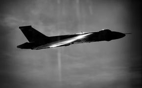 Обои стратегический, бомбардировщик, «Вулкан», Avro Vulcan