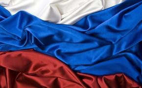 Картинка флаг, Россия, триколор