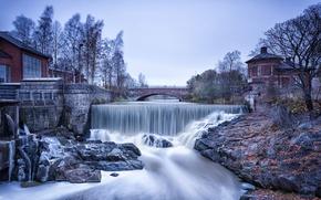 Картинка парк, Финляндия, Helsinki, Ванханкаупунгинлахти, пороги старого города, Vanhankaupunginkoski