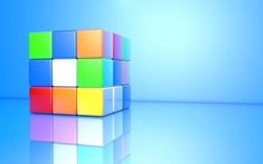 Обои Кубик, Кубик Рубик