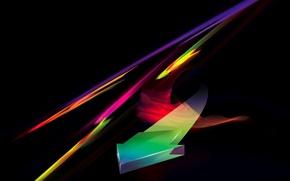 Обои абстракция, abstract, стрела, линии
