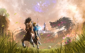 Картинка Nintendo, Game, Link, The Legend Of Zelda: Breath Of The Wild
