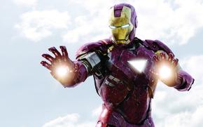 Картинка костюм, Железный человек, Iron Man, Мстители, avengers, The avengers