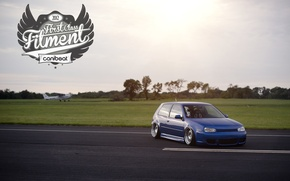 Картинка R32, Golf IV, stence, Fitment, wallpapers Golf IV R32, Golf IV R32