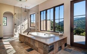 Картинка bath, interior, home, luxury, bathroom