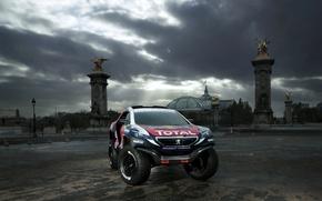 Картинка 2008, Peugeot, пежо, DKR