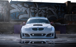Картинка BMW, Car, White, Tuning, Future, by Khyzyl Saleem, Finalreflow