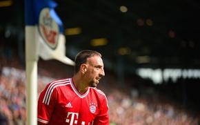 Картинка Франция, Бавария, Футбол, Adidas, Футболист, Франк Рибери, Franck Ribery, Bayern Спорт