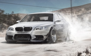 Картинка дорога, car, бмв, BMW, sedan, paint, E60, v10, BMW M5, манина, phothoshop, by DiMANLY, M5, …