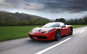 Картинка Ferrari, 458, Speciale, 2014