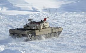 Картинка оружие, танк, Leopard 2A4
