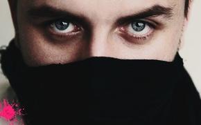 Картинка глаза, голубой, глазки, мачо, красавец, глазище