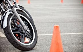 Картинка motorcycle, wheel, training