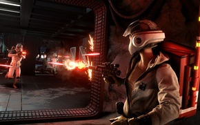 Картинка игры, Electronic Arts, DICE, Stormtroopers, Rebels, star wars battlefront, battle for the goods