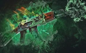 Картинка Green, Skin, CS:GO, Ak-47