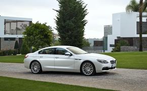 Картинка бмв, BMW, седан, Gran Coupe, F06, 6-Series
