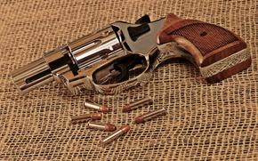 Картинка оружие, макро, патроны, пистолет