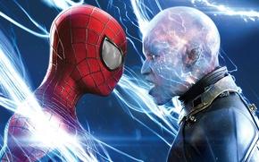 Картинка Electro, Andrew Garfield, Эндрю Гарфилд, Movie, The Amazing Spider Man 2, Max Dillon, Новый Человек ...
