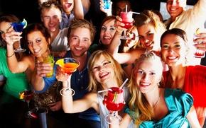 Картинка алкоголь, спиртное, Вечеринка, молодеж