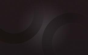 Картинка фон, круг, текстура, темные обои, Circles Black, однотонные обои