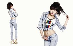 Картинка девушка, музыка, азиатка, Южная Корея, Kpop, Hyuna