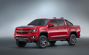 Обои пикап, шевроле, концепт, Colorado, Chevrolet, Concept, колорадо