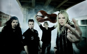 Картинка дым, группа, виолончель, музыканты, Apocalyptica, прогрессивный метал, симфонический-метал, инструментальный метал