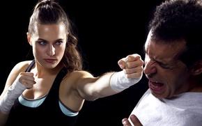 Картинка self defense, punch, training